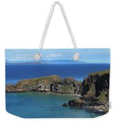 Carrick-a-rede Rope Bridge In The Weekender Tote Bag