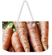 Carrots Weekender Tote Bag by Elena Elisseeva