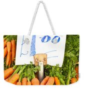 Carrots Weekender Tote Bag by Tom Gowanlock