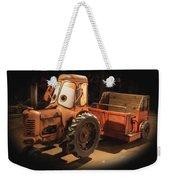 Cars Land Cow Tractor Weekender Tote Bag