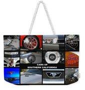 Cars Of Southern California Weekender Tote Bag