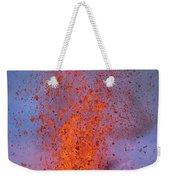 Carsten Likens This Explosive Lava Weekender Tote Bag