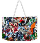 Cartoon Car Detail Weekender Tote Bag