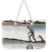 Cartoon: World Wars, 1932 Weekender Tote Bag