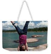 Cartwheel Weekender Tote Bag