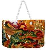 Carved Dragon Weekender Tote Bag