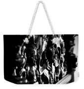 Carved Faces Weekender Tote Bag