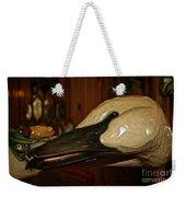 Carved Goose Weekender Tote Bag