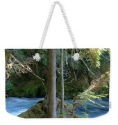 Cascade Rapids Weekender Tote Bag