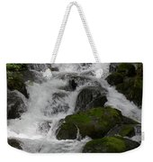 Cascades Below Weekender Tote Bag