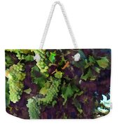 Cascading Grapes Weekender Tote Bag