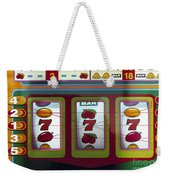 Casino Weekender Tote Bag