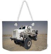 Casper Armored Vehicle Sits Weekender Tote Bag