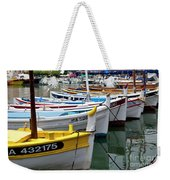 Cassis Boats Weekender Tote Bag by Brian Jannsen