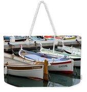 Cassis Harbor Weekender Tote Bag