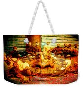 Cast Into The Wind Weekender Tote Bag