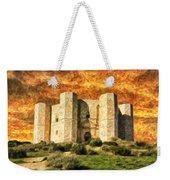 Castel Del Monte Weekender Tote Bag
