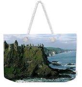 Castle At The Seaside, Dunluce Castle Weekender Tote Bag