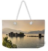 Castle Cannero On Lake Weekender Tote Bag
