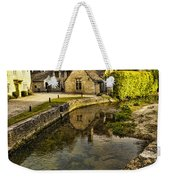 Castle Combe Bridgeside Weekender Tote Bag
