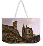 Castle Combe Medieval Church Weekender Tote Bag