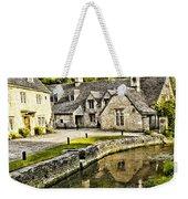 Castle Combe Riverside Weekender Tote Bag
