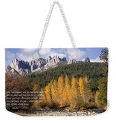 Castle Crags Autumn Weekender Tote Bag