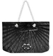 Castle Farms Silo Black And White Weekender Tote Bag