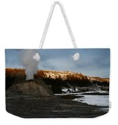 Castle Geyser Yellowstone National Park Weekender Tote Bag