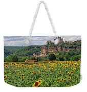 Castle In Dordogne Region France Weekender Tote Bag