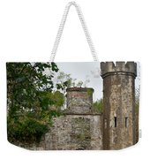 Castle Near Upper Lake Kilarney Irelnad Weekender Tote Bag