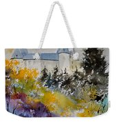 Castle Of Veves Belgium Weekender Tote Bag