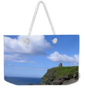 Castle On The Cliffs Of Moher Weekender Tote Bag