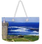 Castle On The Coast, Doonagore Castle Weekender Tote Bag
