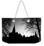 Castle Silhouette Weekender Tote Bag by Semmick Photo