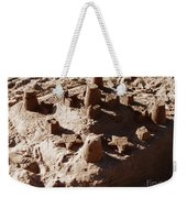 Castles Made Of Sand Weekender Tote Bag by Xueling Zou