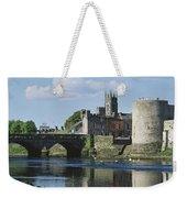 Castles, St Johns Castle, Co Limerick Weekender Tote Bag