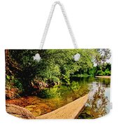 Castor River View Weekender Tote Bag