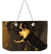 Cat And Dead Game  Weekender Tote Bag