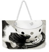 Cat And Mouse Coffee Weekender Tote Bag