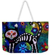 Cat Day Of The Dead Weekender Tote Bag
