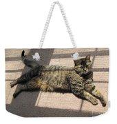Cat Life Weekender Tote Bag