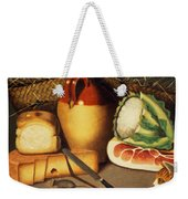 Cat Mouse Bacon And Cheese Weekender Tote Bag