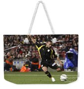 Catalan Player Shooting Weekender Tote Bag
