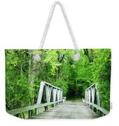 Catalpa Plantation Bridge Weekender Tote Bag