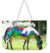 Catch A Painted Pony Weekender Tote Bag