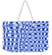 Catch A Wave - Blue Abstract Weekender Tote Bag