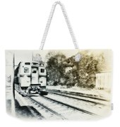 Catch That Train Weekender Tote Bag