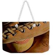 Catcher's Mitt Weekender Tote Bag