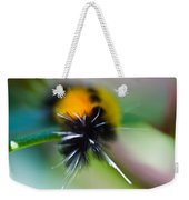 Caterpillar In Abstract Weekender Tote Bag